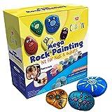 Mega Rock Painting Kits for Kids & Adults - DIY Art
