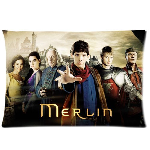 [andersonfgytyh Merlin Season 1 Poster Soft Pillow case Cover 20*30 Inch (Twin sides)Zippered] (Merlin Costumes)