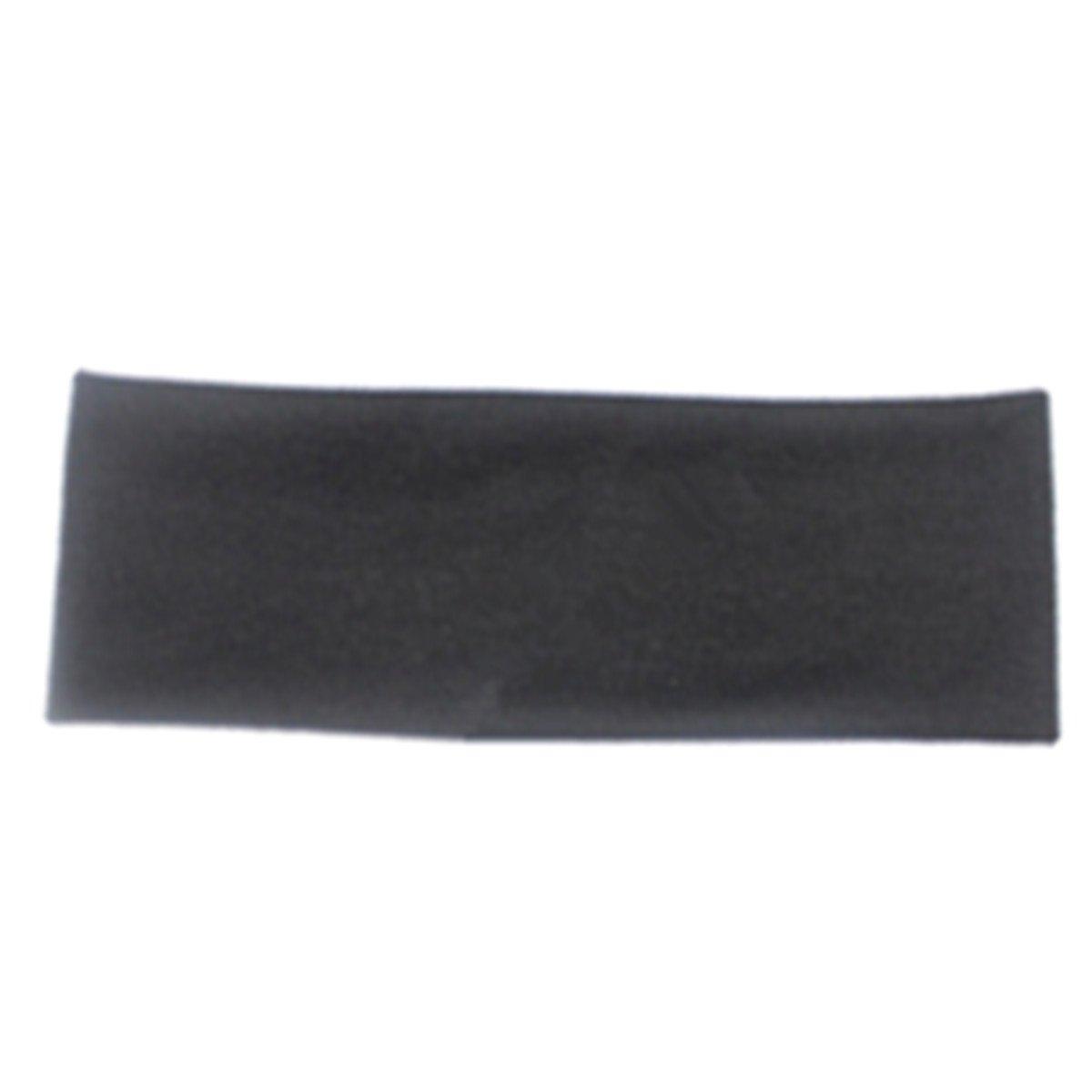 e-papayaストレッチ伸縮性ヨガスポーツソフトコットンヘアバンドカチューシャsweat-absorb B071NC3GTV ブラック ブラック