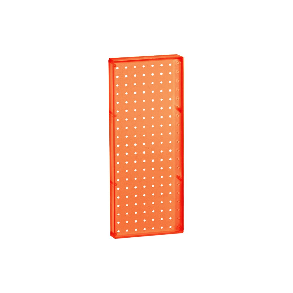B008M7RX62 Azar 770820-ORG Pegboard 1-Sided Wall Panel, Orange Translucent Color, 2-Pack 51efKRVIkYL