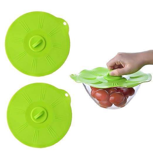 EQLEF® Cubierta de microondas y cocinar la salpicadura de ...