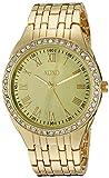 XOXO Women's Quartz Metal and Alloy Casual Watch, Color:Gold-Toned (Model: xo190)