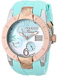 Unisex MW5-1877-433 ILUSION CRESCENT Analog Display Swiss Quartz Blue Watch
