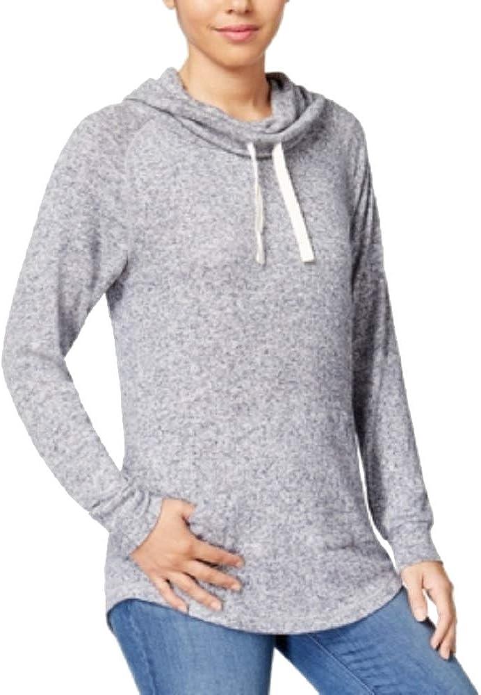 Ultra Flirt Juniors Funnel-Neck Sweatshirt
