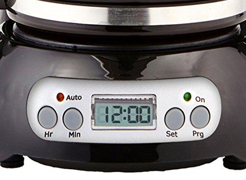 CE North America CP43929 4-Cup Digital Coffee Maker-BLK by CE North America (Image #1)