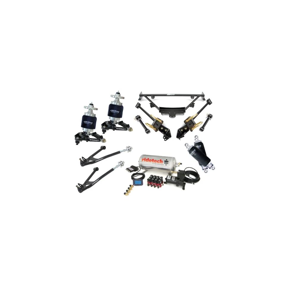 RideTech 1967, 1968, 1969, 1970 Ford Mustang Level 2 Air Suspension System Kit by Air Ride Technologies