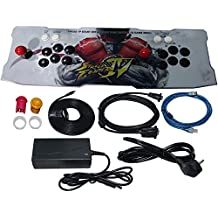 Cloud store Video Game Console 815 Classic Games 2 Players Pandora Box 4S Plus Arcade Game Console 2017 New Updated Black and White Color