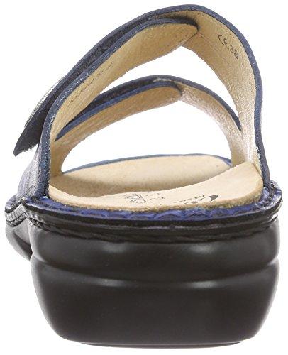 Leather Blue Finn Womens Sandals Sansibar Missouri 2550 Comfort nqXqxH0