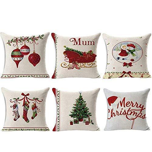 TOOL GADGET Throw Pillow Cover, Pillowcase (6x Christmas Pillowcase)