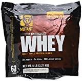 Cheap Mutant Whey – Muscle Building Whey Protein Mix with Unbelievable Great Flavors Made with A 100% 4-Whey Protein Formula Plus Enzyme Fortified – Vanilla Ice Cream Flavor