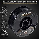 OVERTURE PLA Filament 1.75mm with 3D Build