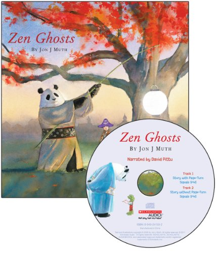 Zen Ghosts - Audio (Read Along Book & CD) -