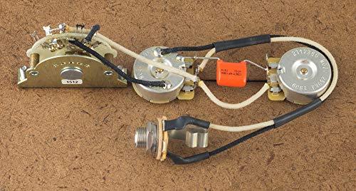 Fender Telecaster Tele 4 Way Wiring Harness Upgrade Oak/Grigsby, CTS Sprague Switchcraft