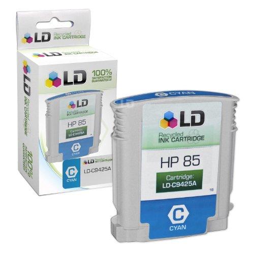 Hp 85 Cyan Cartridge - LD Remanufactured Ink Cartridge Replacement for HP 85 C9425A (Cyan)