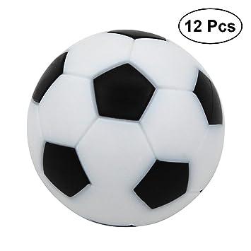 Yeahibaby Mini Juego De Mesa De Balones De Futbol 12pcs 36 Mm