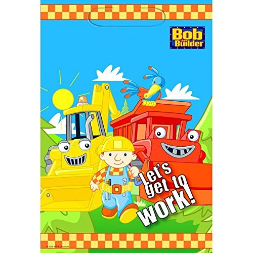 Bob The Builder Costume Toddler - Bob the Builder Party Plastic Lootbag Favour, 9