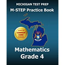 MICHIGAN TEST PREP M-STEP Practice Book Mathematics Grade 4: Covers the Common Core State Standards