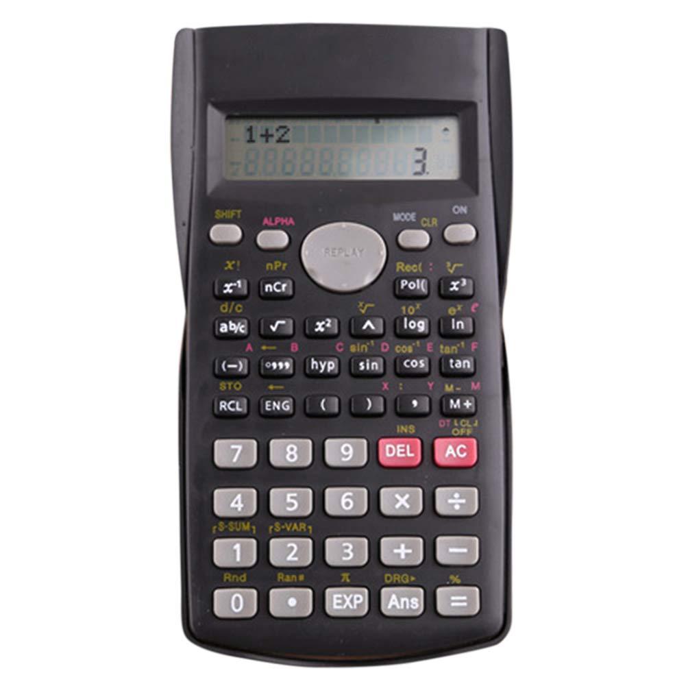 Casa ufficio scuola cancelleria multifunzionale 2-line ingegneria calcolatrice scientifica