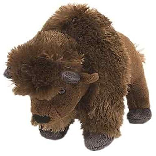 Lion 8' Plush (Stuffed Plush Stuffed Plush Bison Buffalo - 8 Inch Mini Stuffed Plush Bison Buffalo Animal That's Suitable For Babies and Children - Perfect Birthday Gifts - Toy Doll for Baby, Kids and Toddlers)