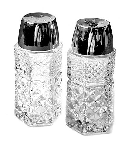 Shaker Anchor Hocking Glass (Anchor Hocking Wexford Clear Glass ( Salt & Pepper Shaker Set ))
