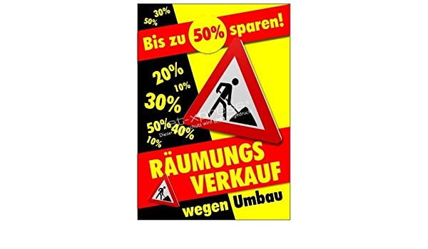 Cartel de Publicidad Ventas de Liquidación para Renovación ...