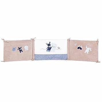 nattou tour de lit bb 70x140 cm et 60x120 cm garon bleu alex - Tour De Lit 70x140