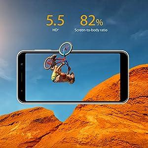 "ASUS ZenFone Max (ZB555KL-S425-2G16G-GD) – 5.5""HD+ 2GB RAM 16GB storage LTE Unlocked Dual SIM Cell phone – US Warranty – Sunlight Gold"