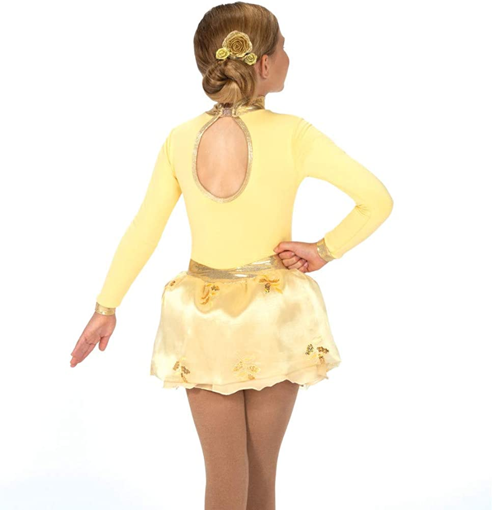 22 Soft Gold Fleece Jerrys Ice Skating Dress