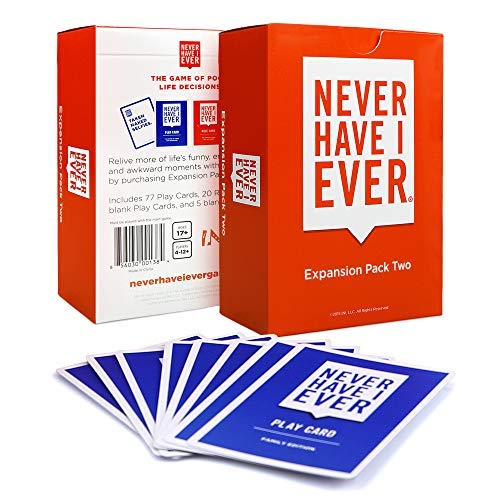 Never Have I Ever Expansion Pack Two (Have Game Card I)