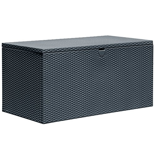 Arrow Spacemaker Deck Box Basket Weave, Anthracite by Arrow