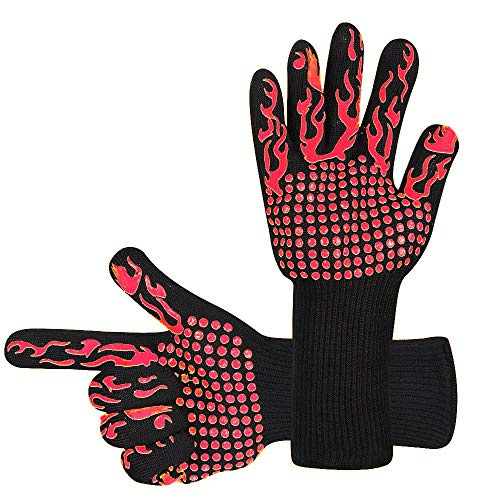fireplace accessories gloves - 8