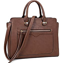 Dasein Women Vegan Leather Handbag
