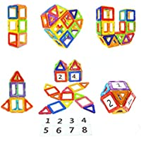 Magnetic Blocks STEM Educational Toys Magnet Building...