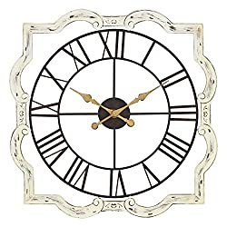 Aspire Wall Clock Eloise French Country, White
