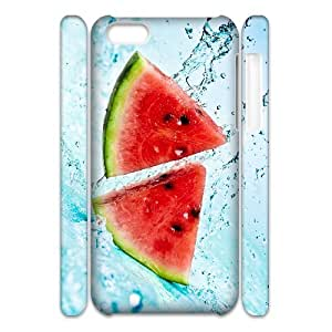 QSWHXN Customized 3D case Watermelon for iPhone 5C