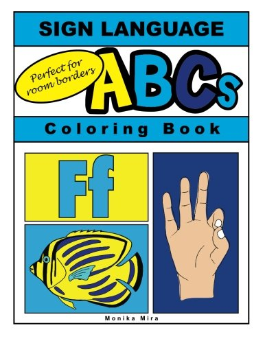 (Sign Language ABCs  Coloring Book)
