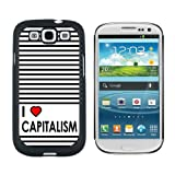 img - for Graphics and More I Love Heart Capitalism - Snap On Hard Protective Case for Samsung Galaxy S3 - Black book / textbook / text book