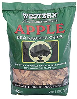 Western 2Pk 28065 Apple BBQ Smoking Chips, 2.94 L from W W Wood Inc