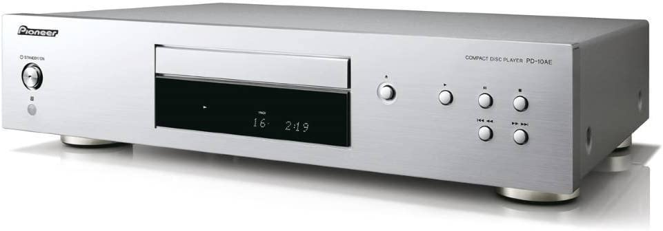 B Pioneer PD-10AE Pure audio CD player with silent drive and 10ppm precision clock Black