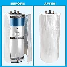 "HOT WATER TANK ""STANDARD"" HEATER JACKET:ENERGY SAVING REFLECTIVE FOIL FITS 50-60 GALLON/275 LITRE TANK"