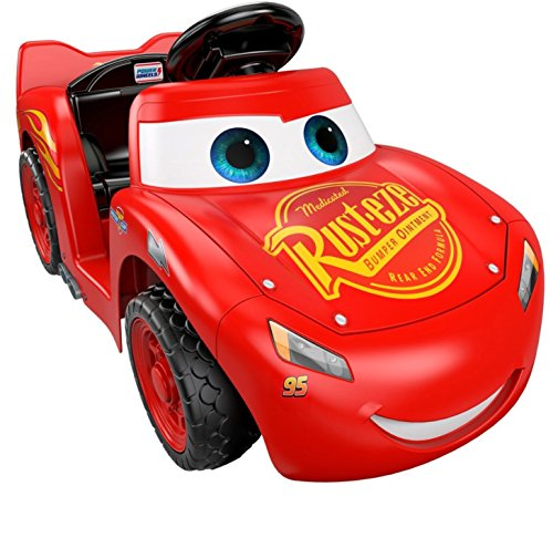 51efSFOsIVL - Power Wheels Lil Lightning McQueen