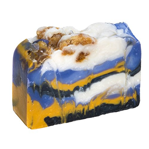 White Tea and Ginger Soap Bar (4 Oz) -Handmade Organic Herbal Bar with Therapeutic Essential Oils. Natural Moisturizing Body Soap for Skin and Face. With Shea Butter, Coconut Oil and Natural Glycerin