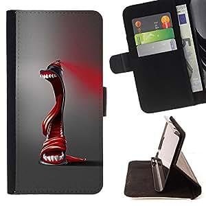 - Abstract Spray Paint - - Prima caja de la PU billetera de cuero con ranuras para tarjetas, efectivo desmontable correa para l Funny HouseFOR Sony Xperia m55w Z3 Compact Mini