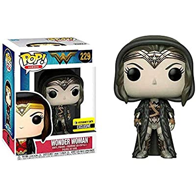Funko Pop! Heroes: Wonder Woman (Sepia Exclusive) #229: Toys & Games