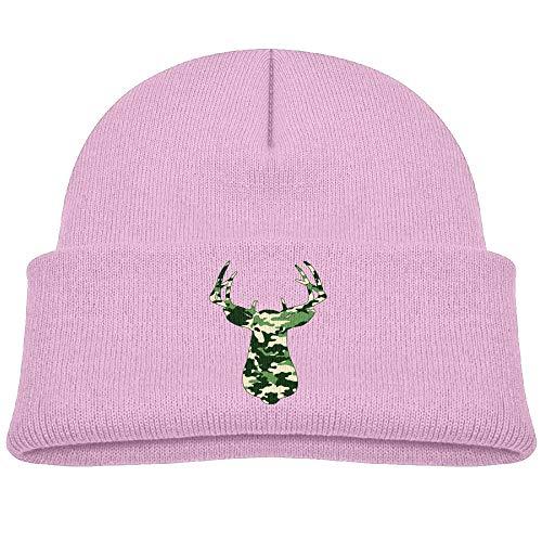 Hanfjj Kefdk Camo Deer Infant Skull Hat Baby Girls Beanies Cap
