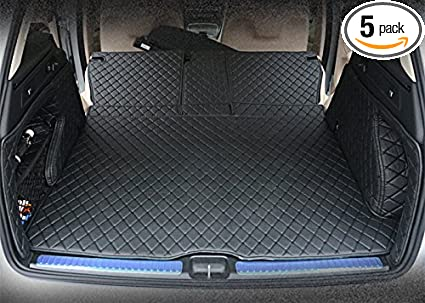 Amazon Com Cool Car Full Covered Cargo Liners Leather Boots Liner
