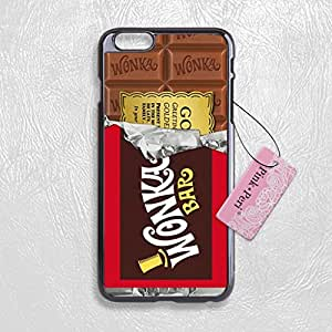 pink peri willy wonka golden ticket protective hard phone case for iphone 6 plus 5. Black Bedroom Furniture Sets. Home Design Ideas