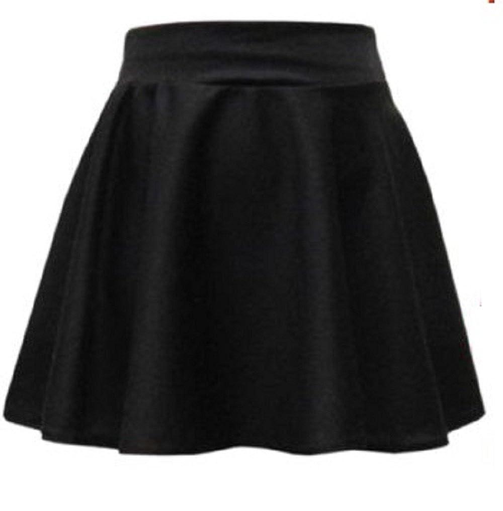 Fashion Oasis Girls School Plain Dancewear Gym Short Stretch Flared Skater Skirts Ages 7-8 11-12 /& 13 9-10