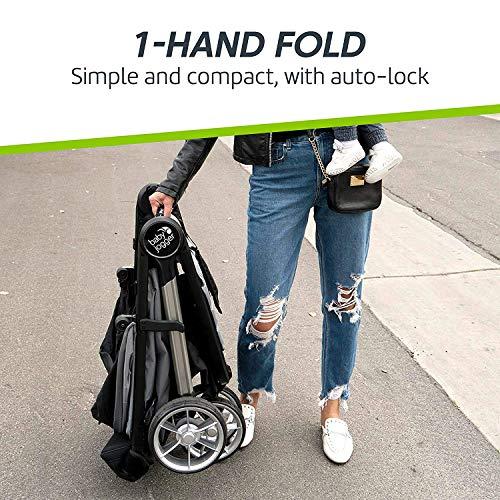 Baby Jogger City Mini 2 Stroller - 2019   Compact, Lightweight Stroller   Quick Fold Baby Stroller, Slate