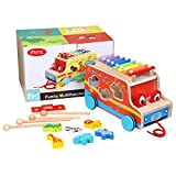 best seller today Miric Pull Toy Xylophone Wooden Shape...
